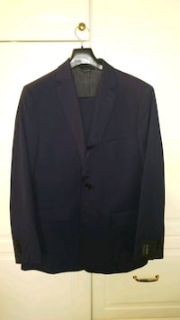 Brand New Navy Pinstripe Italian Suit  Vaughan, L4J 0A1