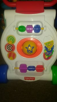 Fisher Price learn with me musical walker