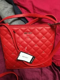 red leather quilted crossbody bag Brampton, L6Y 5R7