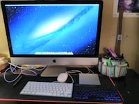 "27"" iMac desktop 16 gigs  1 TB storage (late 2012 model) w/magictrack"