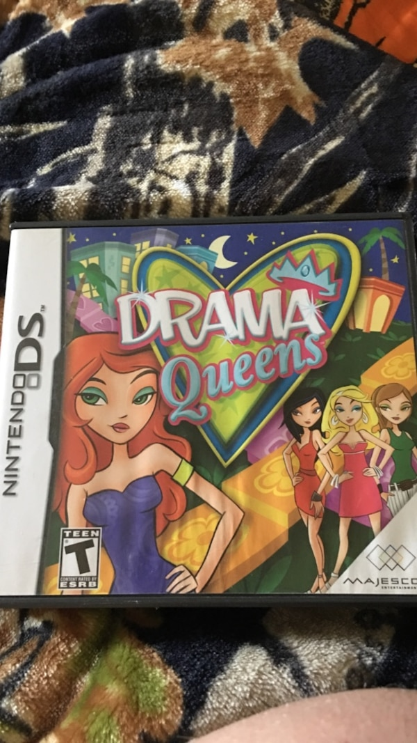 Drama Queens Nintendo DS game case