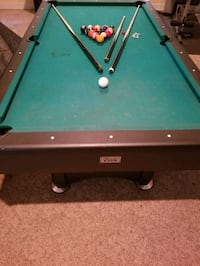 Minesota Fats Pool Table with Table Tennis Top
