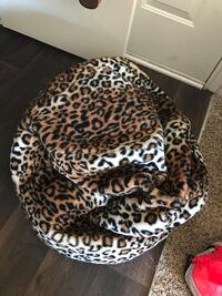 Leopard Print Bean Bag Atlanta, 30329