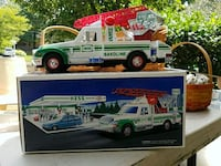 white and green Hess truck toy Silver Spring, 20904