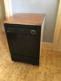 Maytag Jetclean with Quiet Pack includes butcher block top. Sorry people, this posting was premature. It is for sale, but I'll still need to use it until mid-August. If you'd still be interested in it in about four weeks, please quote a price that you are Vancouver, V6P 4E5