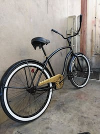 black and brown cruiser bike 2230 mi