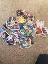 assorted sports trading card lot St. Joseph, 64504