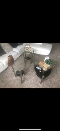 3-piece Glass Coffee table Set Owings Mills, 21117