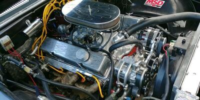 Chevy 350 engine with 400 transmission
