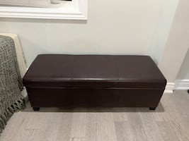 Leather Ottoman/Bench