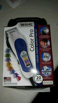 Wahl hair clippers.