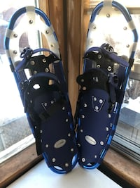 Pair of black-and-white leather sandals 3127 km