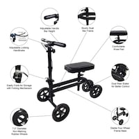 """Knee Scooter with 1"""" foam cover Brunswick"""