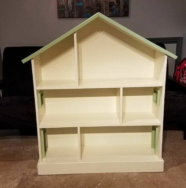 Used Pottery Barn Kids Dollhouse Bookcase For Sale In Mundelein Letgo