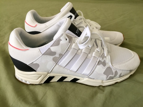 factory price 9149a d4815 Adidas Equipment Support RF Running Shoes Trainers White Black Camo BB1995  Sz 13 NWT