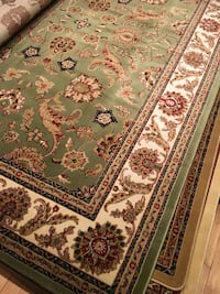 new traditional design rug size 8x11 nice green carpet rugs carpets Burke, 22015