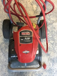 red and black Troy-Bilt pressure washer Bolton, L7E 2Z6