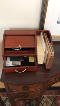 Mail, pens, letters holder for office desk Falmouth, 04105