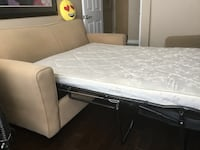 SIMMONS DOUBLE SIZE SOFABED WITH BEAUTYREST MATTRESS Toronto, M2R