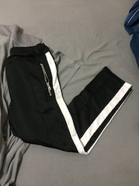 Black and white track pants Sz m Ajax, L1T 4L9
