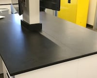 (4) solid black epoxy resin counter tops Edmonton, T6M 1B5