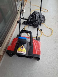 "Electric 20,"" snow blower gently used 150$"