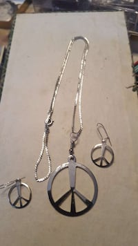 Original 70s peace sign 3 pc set