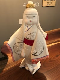 white and red ceramic figurine Kitchener, N2A 0G7