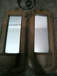 Vintage wall mirrors null