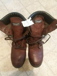 pair of brown leather work boots Greencastle, 17225