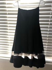 Express Strapless Cocktail Dress only wore once. Organza hem.  Brampton, L7A 3L6