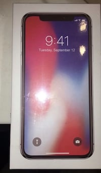 IPHONE X . 256GB . It's brand new & still sealed Columbia, 21044