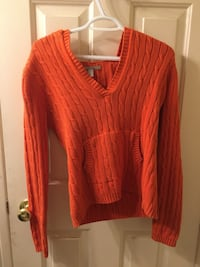 red v-neck sweater Calgary, T3H 0R9