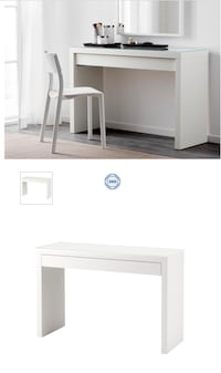 Ikea Malm Dressing Table Silver Spring, 20910