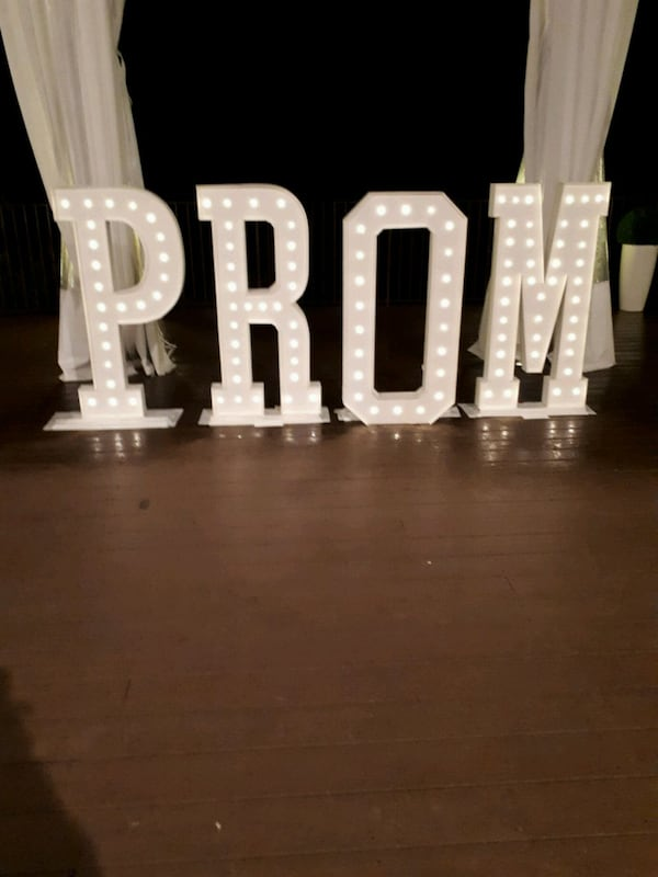 MARQUEE Letters & Numbers 4ft tall$50 ea. rental  4174c7b0-b642-4af1-a0b8-e80e91978345