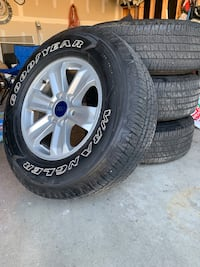 F-150 rims and tires Indianapolis, 46239