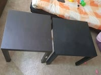 two black wooden side tables Germantown, 20874