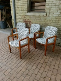 Four teak dining chairs   Washington, 20003