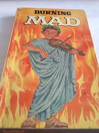 Super Rare collectible early MAD magazine : Burning MAD ( book)