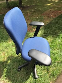 Black, blue, and gray rolling armchair Germantown, 20874