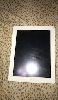 white iPad with white case Vancouver
