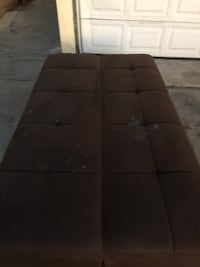 Sofa bed with storage my son used only 3-4 months we paid $750  just needs a clean because have some stains from the slime Stanton, 90680