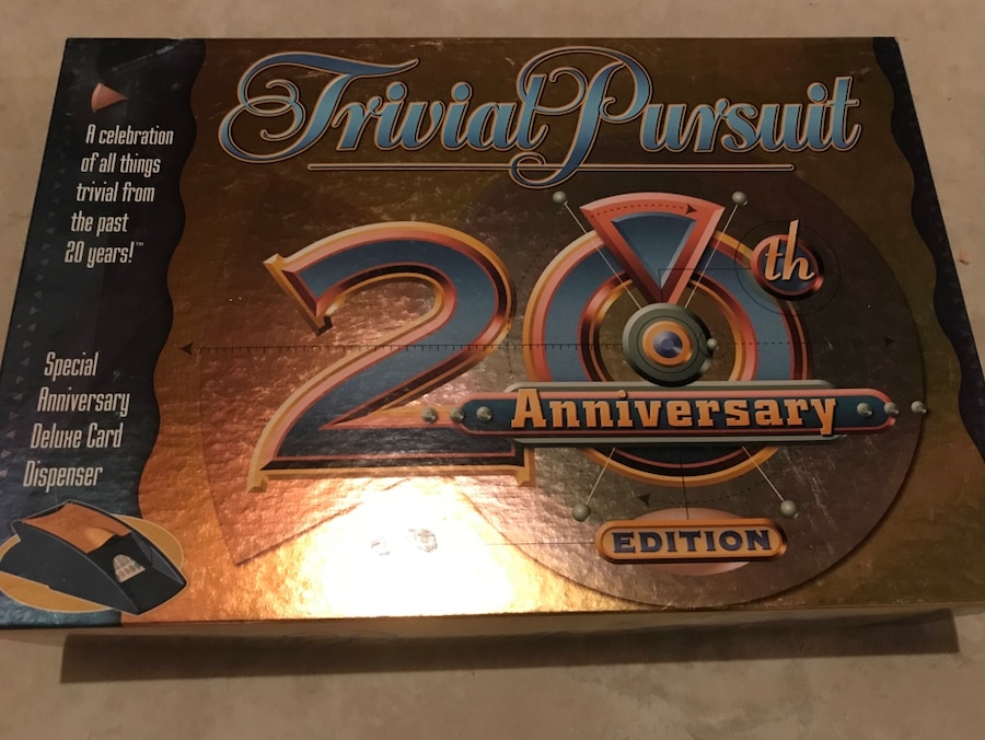 Photo Trivial Pursuit 20th Anniversary edition