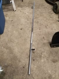 Solid steel 6 foot bench press bar Markham, L3R 8G5