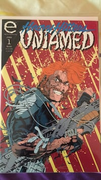 Heavy Hitters Untamed comic. mint. number 1. embossed cover. Beaverton, 97005