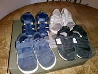 toddler's four pairs of shoes Palm Desert, 92211