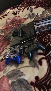 Sony PS3 console with controllers and games Lincoln, 95648