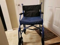 Medline  portable light weight foldable wheelchair Woodbridge, 22191