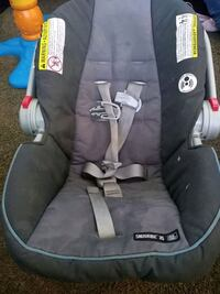 baby's black and gray car seat carrier Tulsa, 74104