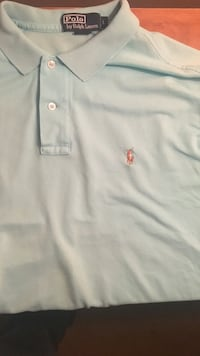 teal Polo Ralph Lauren polo shirt